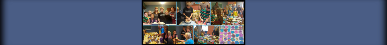 Banner collage photo of children's ministry.