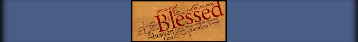 Banner Image for the Beatitudes series.